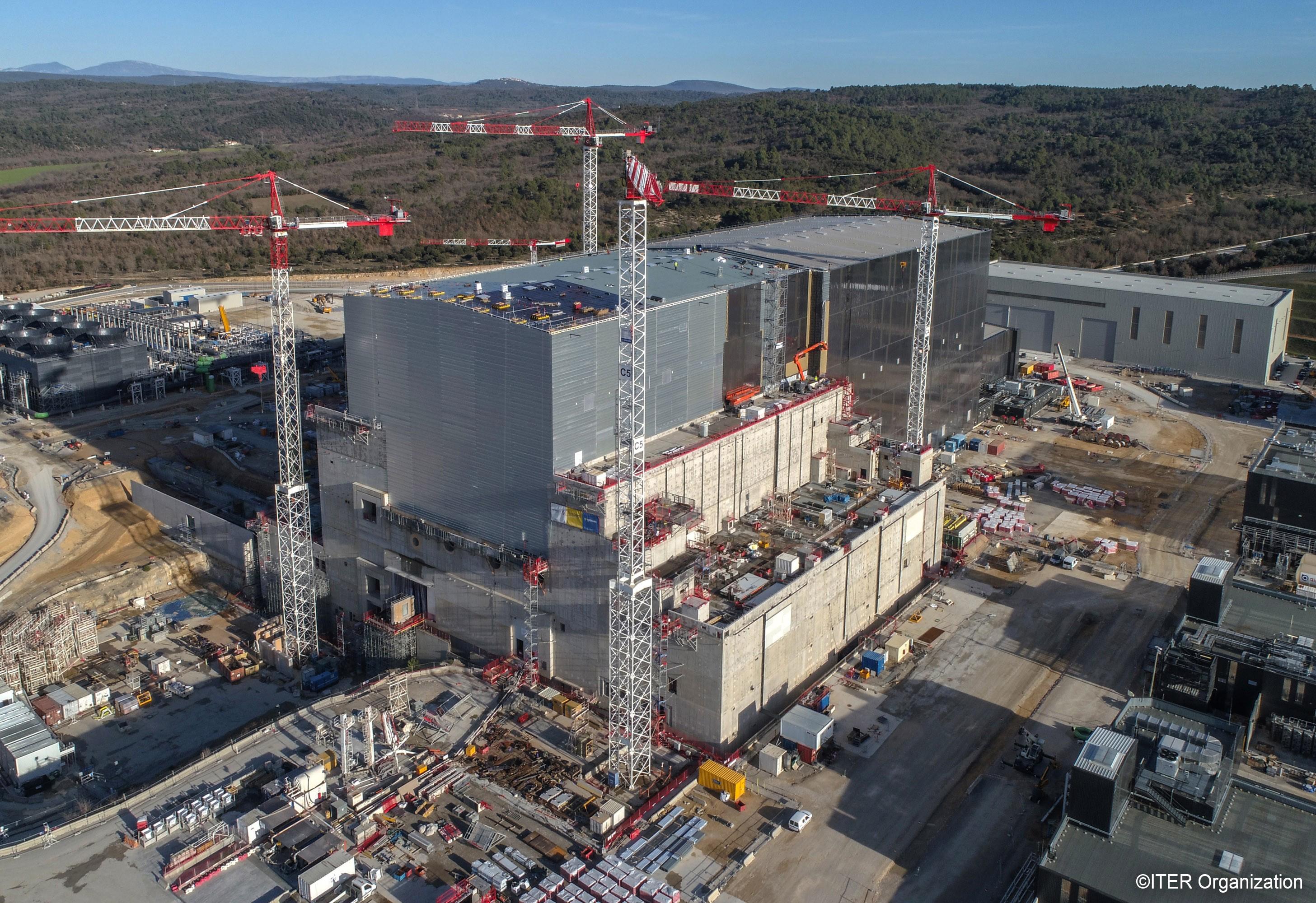 ITER建設サイトの状況(2020年4月現在)