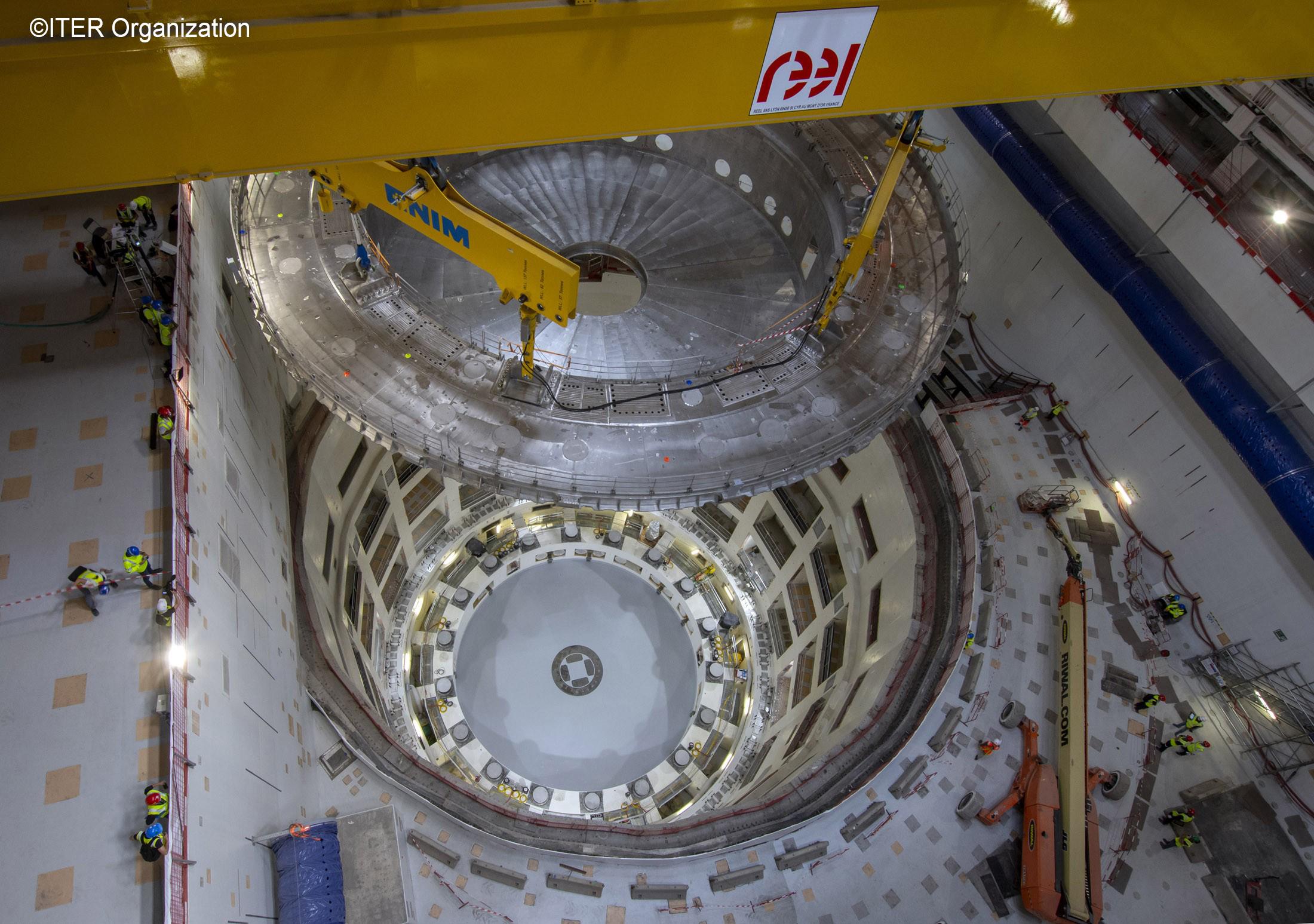 ITER建設サイトの状況(2020年6月現在)