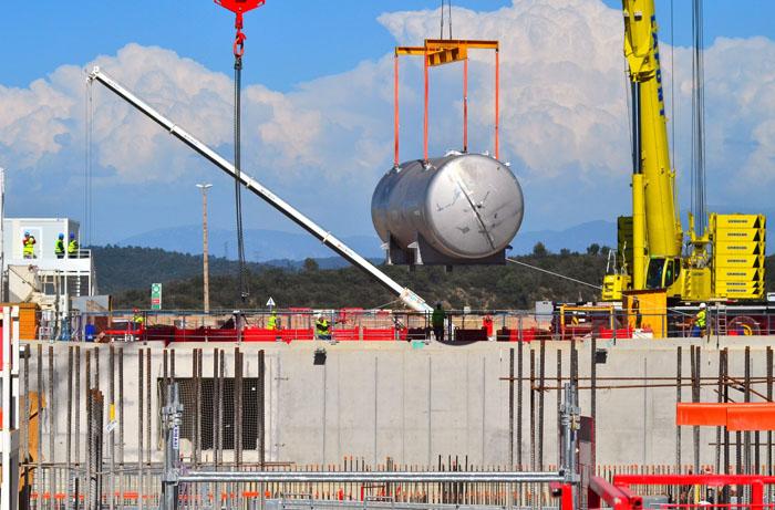 ITER建設サイトの状況(2016年4月現在)